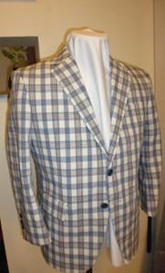 イタリーゴリ綿98%のジャケット