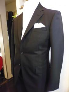 礼服 段返り3釦1つがけスーツ