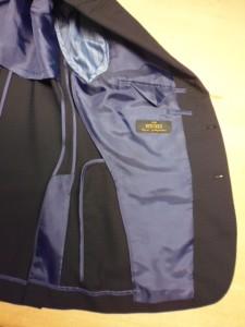 ハードレックスウール100%スーツ
