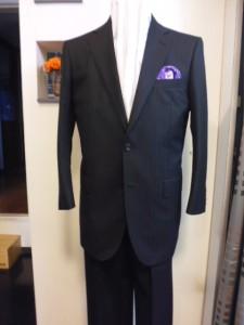 ランヴァンウール100%スーツ