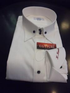 白ドビーシャツ