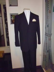 P1000389国産ウール100%スーツ