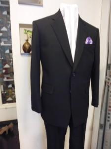 エーワンテックス紺スーツ